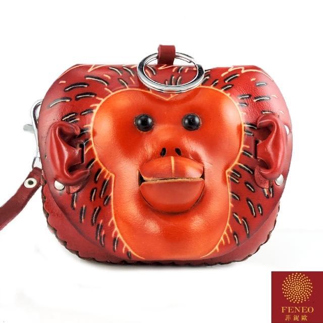 【菲鈮歐】旺本命十二生肖手工皮革小錢包(猴1477)