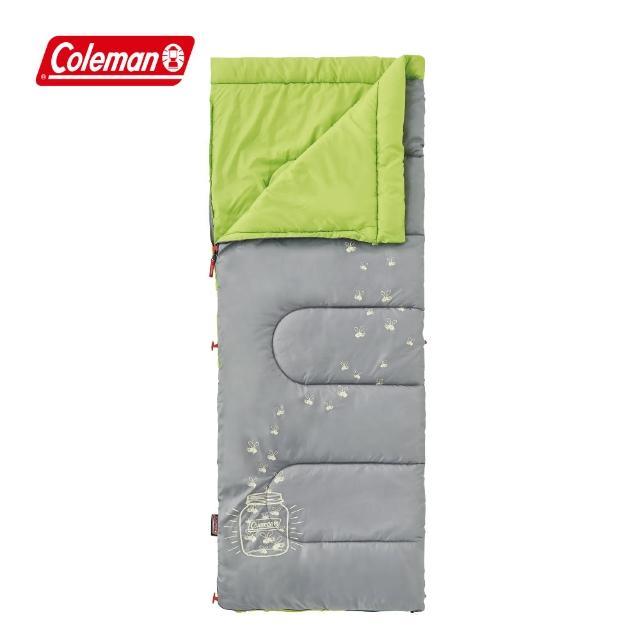 【COLEMAN】夜光型萊姆綠兒童睡袋/C7(CM-22259M000)