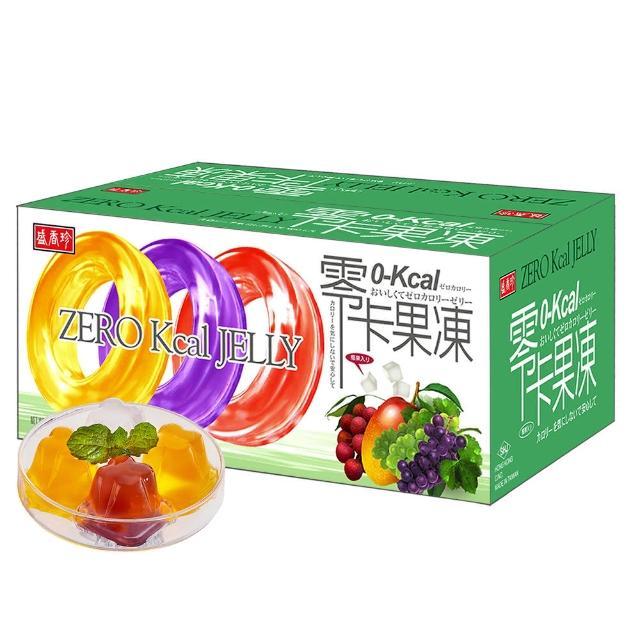 【盛香珍】零卡小果凍量販箱-綜合水果口味6kg(箱)