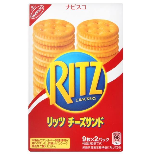 【RITZ麗滋】起士夾心餅乾(160g)