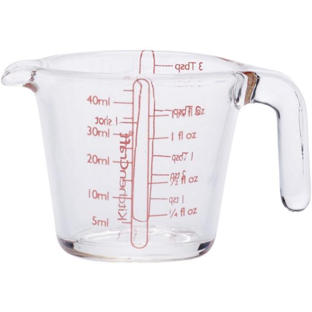【KitchenCraft】Mini握柄玻璃量杯(45ml)