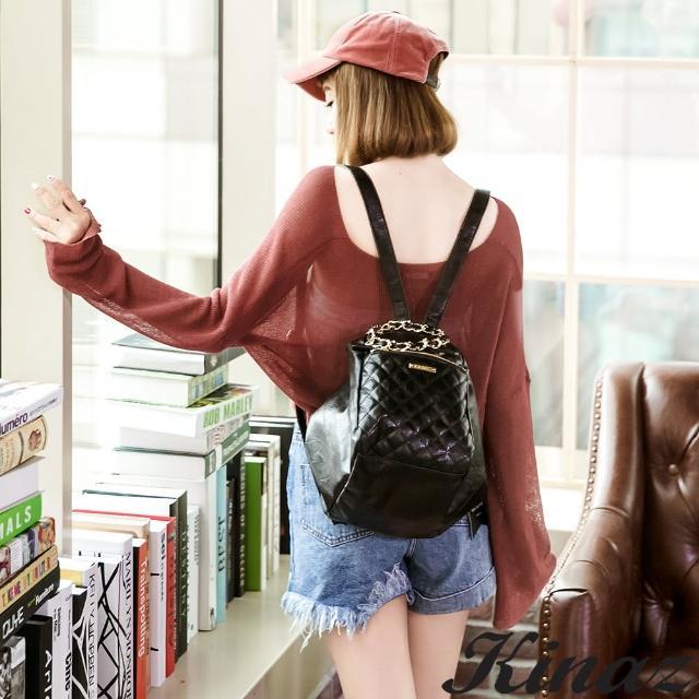 【KINAZ】唯美雨絲多用後背包-Raining Day系列