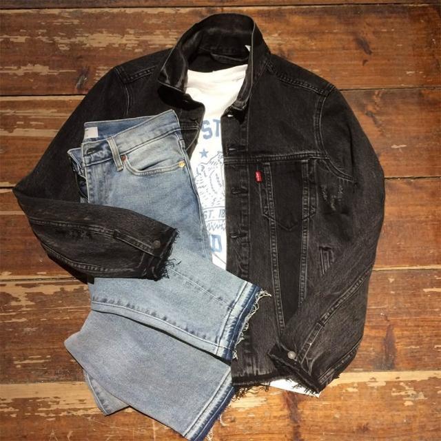【Levis】510 中腰緊身牛仔褲 / 彈性布料 / Altered