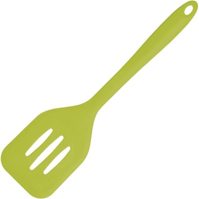 【KitchenCraft】矽膠濾油鍋鏟(綠)