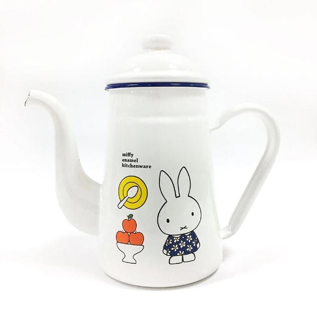 【富士琺瑯】MIFFY米菲兔細口壺(1.0L)