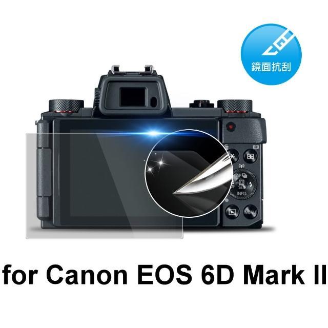 【D&A】Canon EOS 6D Mark II 日本原膜HC螢幕保護貼(鏡面抗刮)