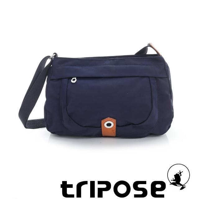 【tripose】微旅系列淑女側肩包(藍)