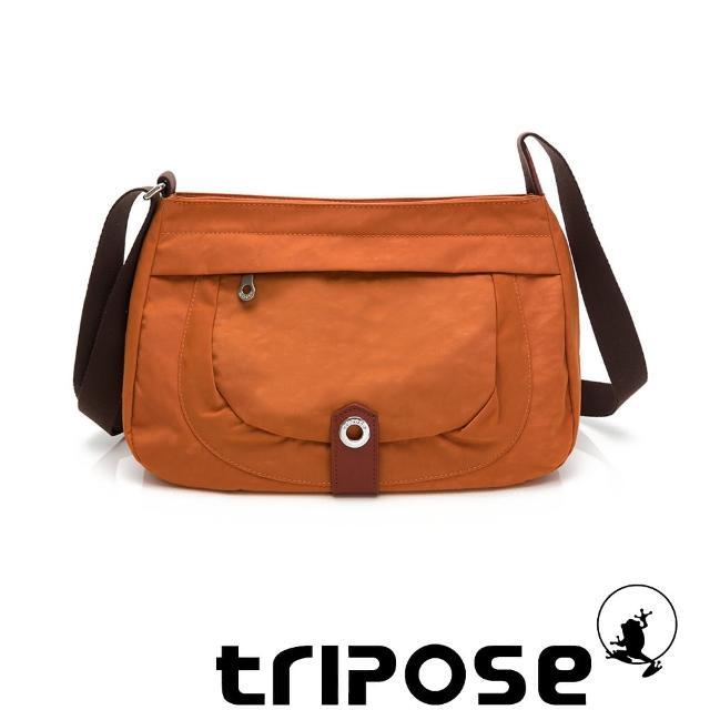 【tripose】微旅系列淑女側肩包(橘)