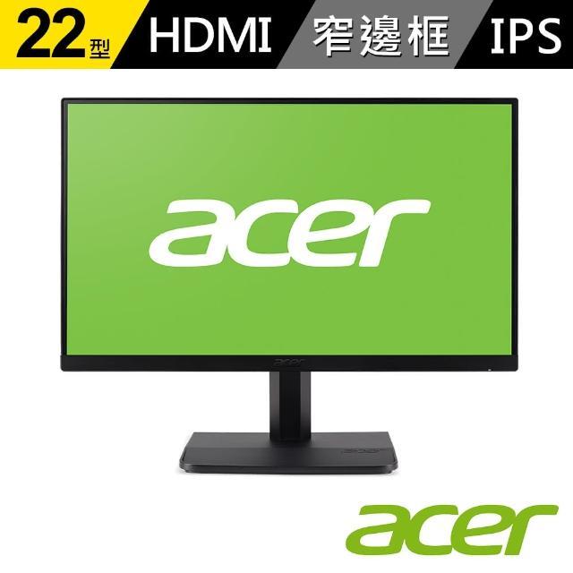 【Acer】ET221Q 22型IPS無邊框螢幕