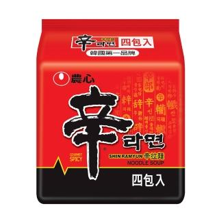 【NONG SHIM】農心辛拉麵-4入(480g)