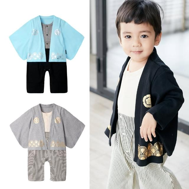 【baby童衣】日式和服長袖連身衣 70065(共2色)