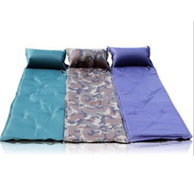 【LOTUS】9點 5cm加厚 自動充氣墊 自動充氣床墊 露營睡墊