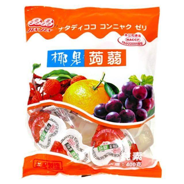 【晶晶】椰果蒟蒻果凍(綜合口味)(400g)