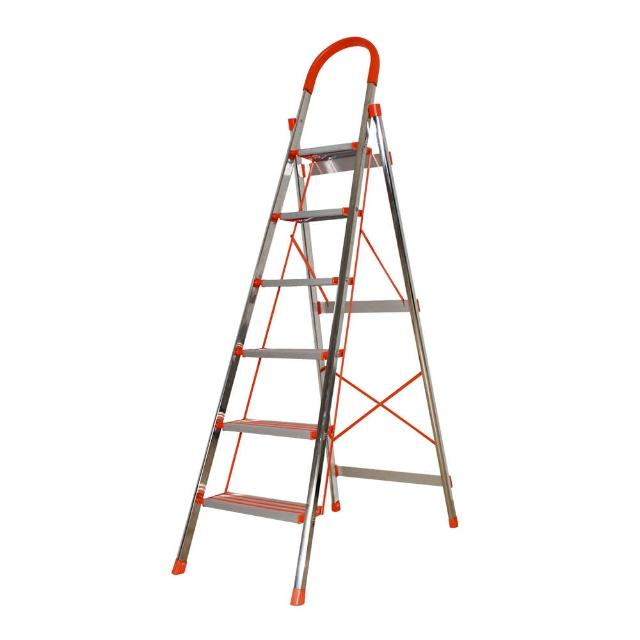 【Effect】全新居家不锈钢铝制加厚加宽手扶梯(居家必备-六阶)