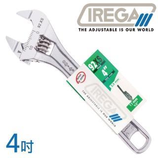 【IREGA】92xs超超薄型活動板手-4吋(活動板手)