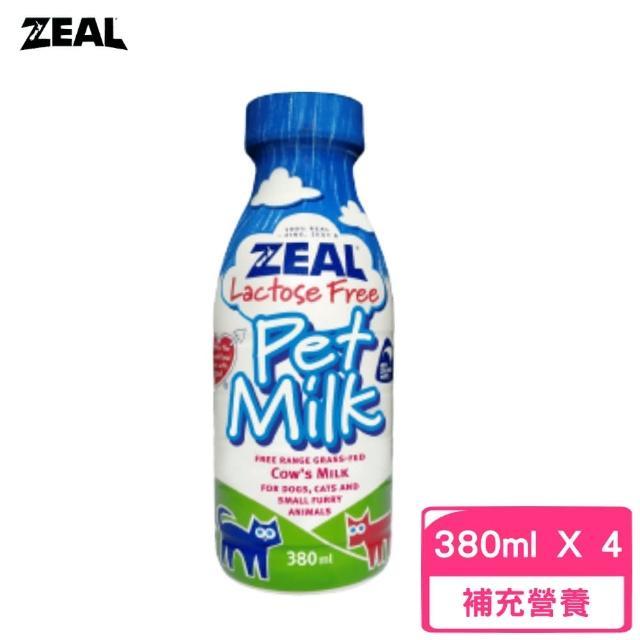 【ZEAL】紐西蘭犬貓專用鮮乳380ml(3罐組)