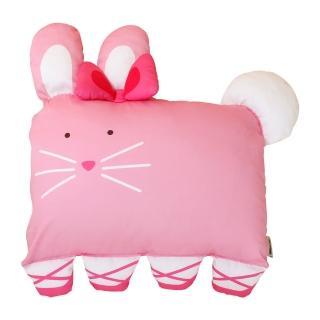 【Milo Gabby】動物好朋友-大枕頭套(LOLA芭蕾舞兔兔)