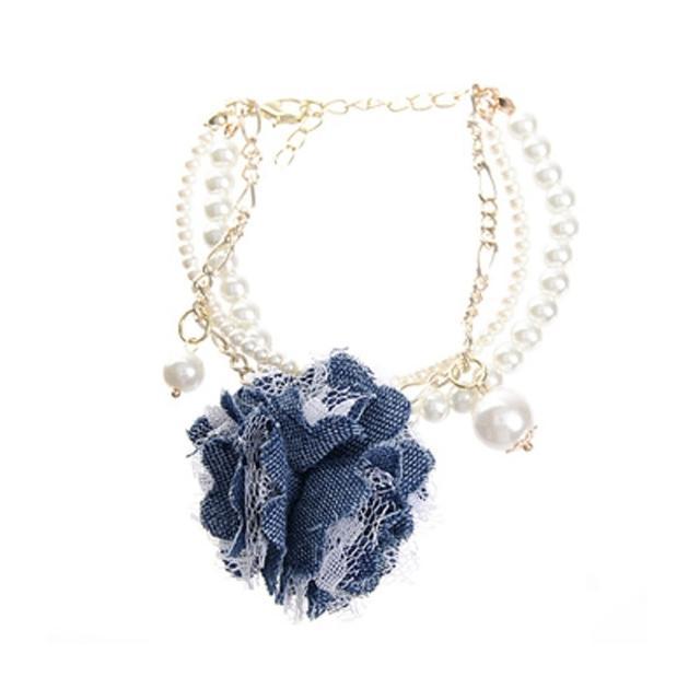 【Lady c.c.】韓國熱賣珍珠層次華美手鍊