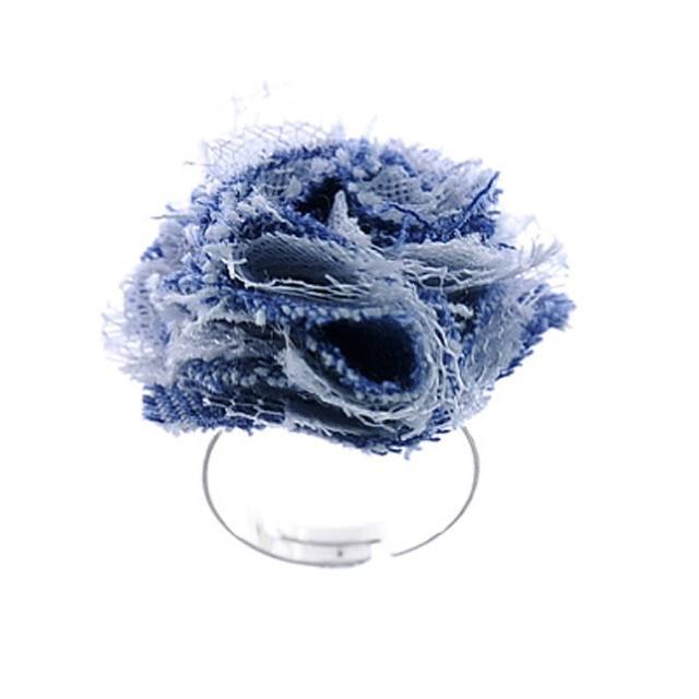 【Lady c.c.】淺藍海洋清新造型戒指