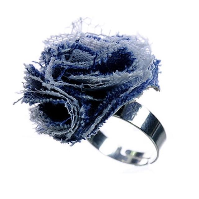 【Lady c.c.】深藍海洋清新造型戒指