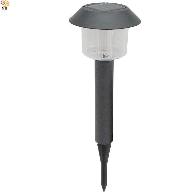 【月陽】黑帽太陽能充電式自動光控開關LED庭園燈草坪燈插地燈(5004)