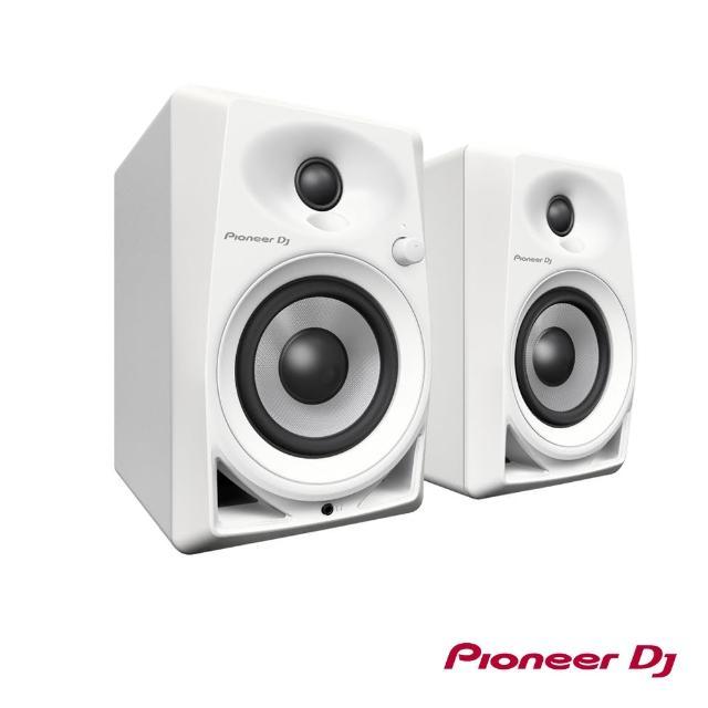 【Pioneer】DM-40 主動式監聽喇叭4吋白色款(DM-40-W)