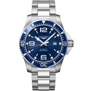 【浪琴 LONGINES】水鬼系列 機械潛水腕錶(L38414966-44mm)