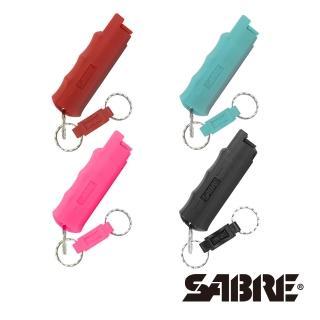 【SABRE沙豹】防身噴霧 快拆型防身噴霧(紅色/粉紅色/黑/蒂芬妮藍)