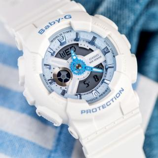 【BABY-G】戀夏海洋時尚運動腕錶(BA-110BE-7ADR)