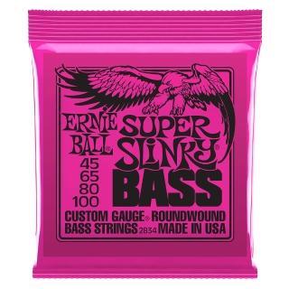 【ERNIE BALL】2834 Slinky 電貝斯套弦 045-100(原廠公司貨 商品保固有保障)