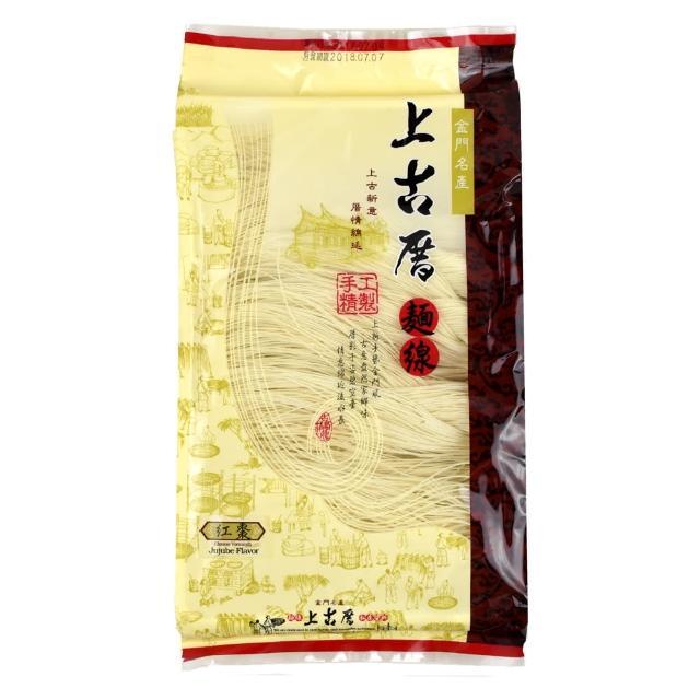 【聖祖食品】上古厝手工麵線-紅棗(280g)