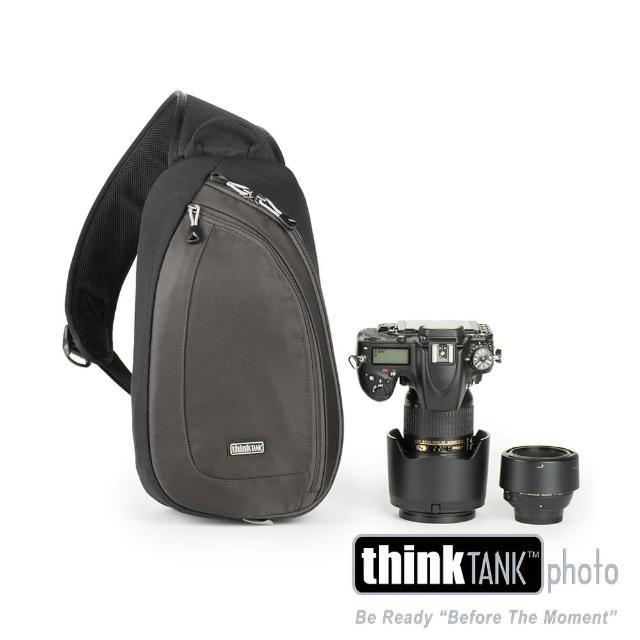 【ThinkTank創意坦克】360度單肩斜背/腰包兩用相機背包 M (灰)-TS460