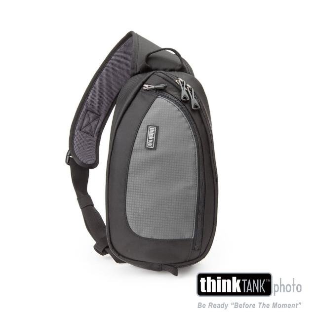 【ThinkTank創意坦克】360度單肩斜背/腰包兩用相機背包 S (灰)-TS455