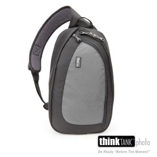 【ThinkTank創意坦克】360度單肩斜背/腰包兩用相機背包 L (灰)-TS465
