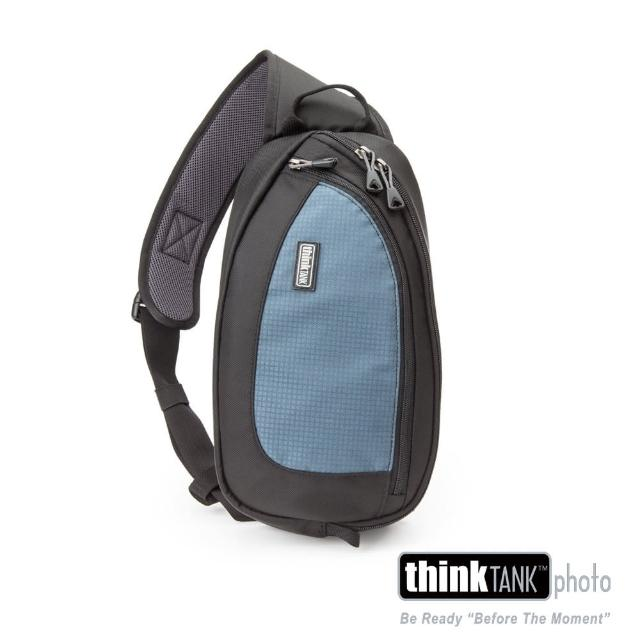 【ThinkTank創意坦克】360度單肩斜背/腰包兩用相機背包 S (藍)-TS454