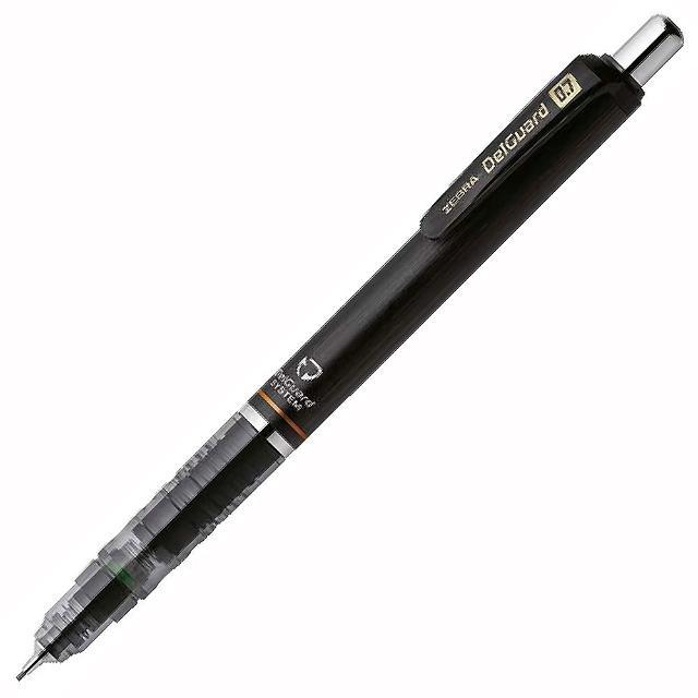 【ZEBRA】P-MAB85 DelGuard 不易斷芯自動鉛筆 0.7黑