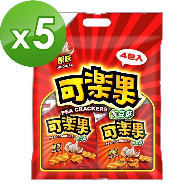 【可樂果】原味-量販包(4包/袋)*5袋