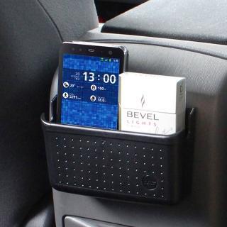 【日本YAC】PZ-624軟質多功能手機置物盒-L(汽車收納架)