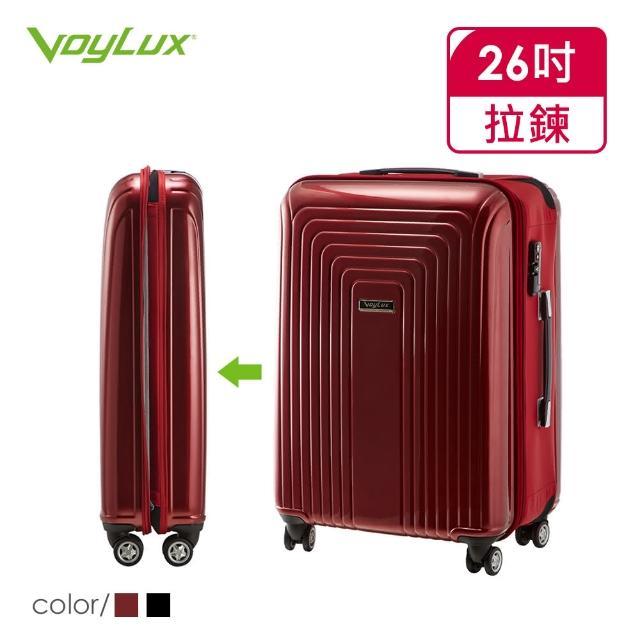 【VOYLUX】VERTICAL系列-26吋硬殼收摺專利八輪行李箱(37896X)