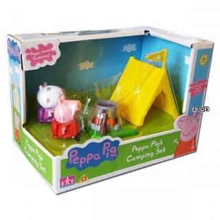 【Peppa Pig】粉紅豬小妹 戶外露營組(佩佩豬)