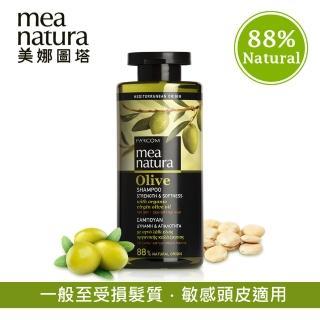 【mea natura 美娜圖塔】橄欖頭皮修護髮浴300ml(乾燥受損髮質)