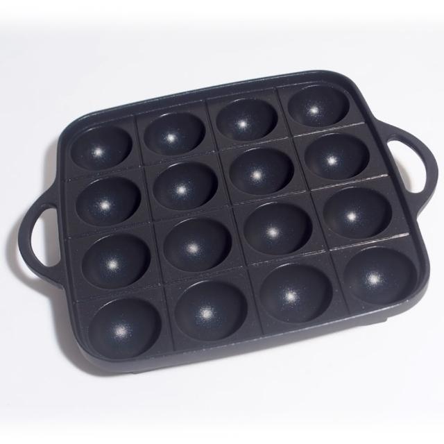 【日本岩谷Iwatani】卡式瓦斯爐專用章魚燒烤盤(CB-P-TAF)