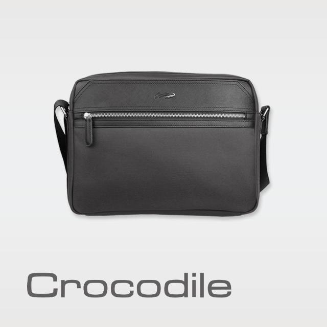 【Crocodile】Crocodile Wind 2.0系列布配皮橫式斜背包(L) 0104-08004