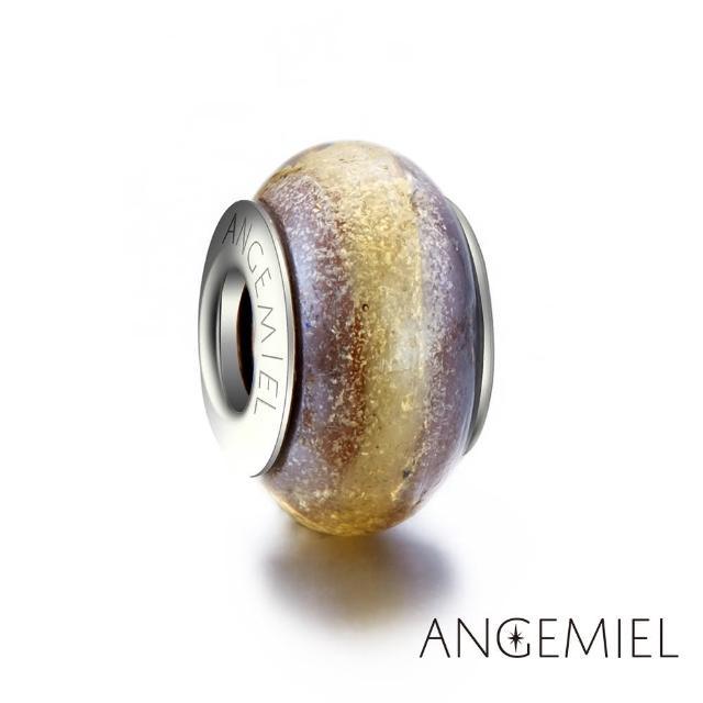 【Angemiel安婕米】925純銀珠飾 琉璃珠 星塵