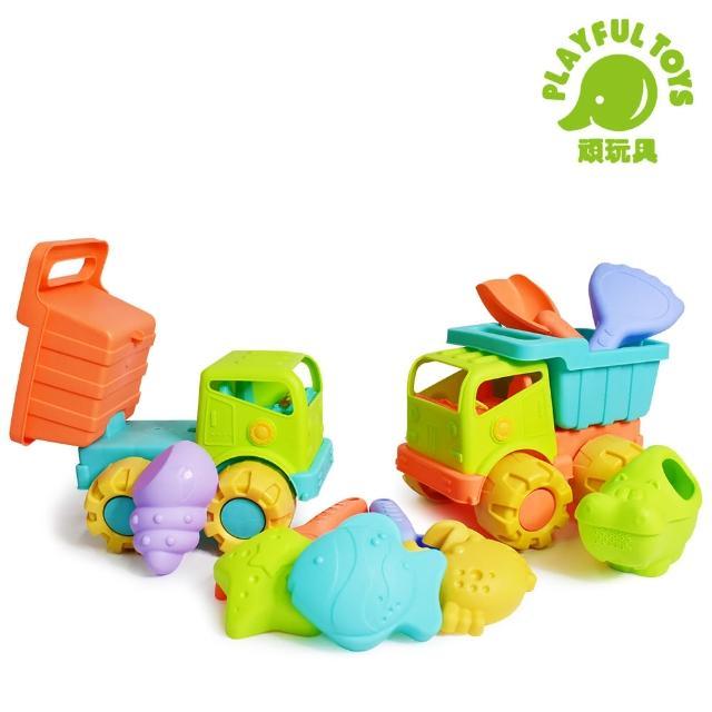 【Playful Toys】沙灘組(太空沙 沙灘玩具 沙子 兒童 寶寶)