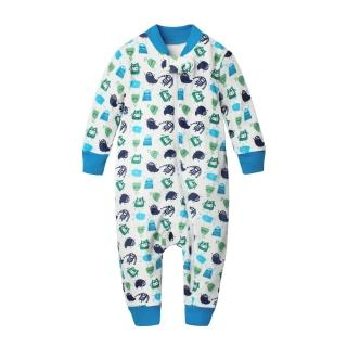 【baby童衣】任選 居家服 側開睡衣型連身衣 60161(天空藍)