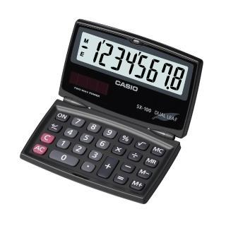 【CASIO卡西歐】8位數國考型計算機(SX-100)