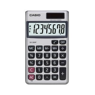 【CASIO卡西歐】8位數國考型商用計算機(SX-300P)