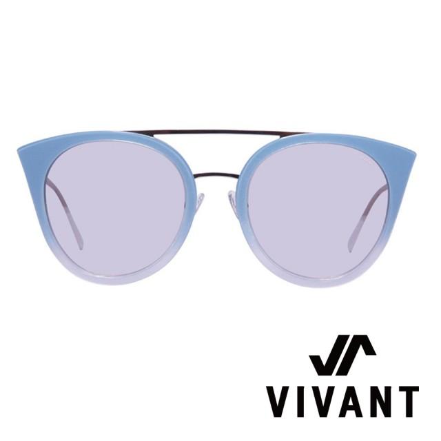 【VIVANT】彩蝶Ⅱ系列貓頭鷹造型雙樑太陽眼鏡.海藍(PAPILON Ⅱ C4)