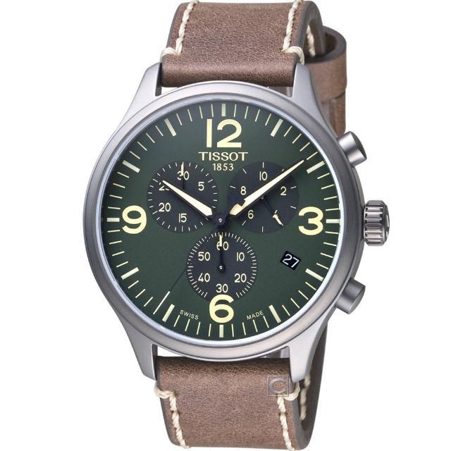 【TISSOT天梭】-Sport系列 CHRONO XL運動計時腕錶(T1166173609700)